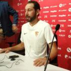 Pablo Machín, en rueda de prensa