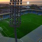 Imagen del Dalga Arena, estadio del Neftçi, posible rival del Sevilla