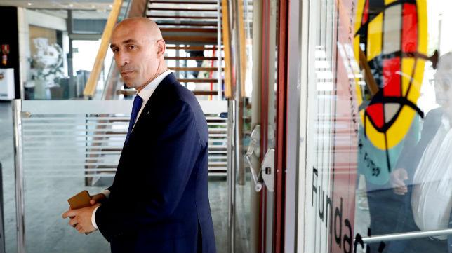 Luis Rubiales, en la Federación Española (EFE)