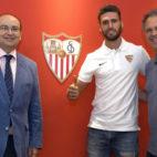 José Castro, Sergi Gómez y Joaquín Caparrós. Foto: SFC