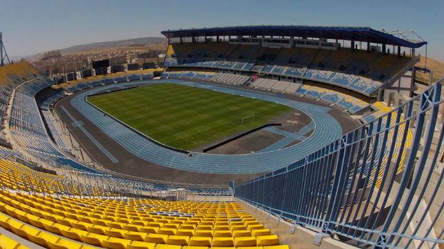 Estadio de Tánger, lugar en el que Sevilla y Barcelona jugarán la Supercopa (RFEF)