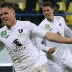 Soma Novothny, delantero del Újpest FC