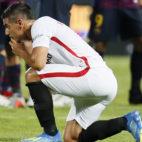Ben Yedder, a la conclusión del Sevilla-Barcelona de la Supercopa (foto: EFE//José Manuel Vidal)