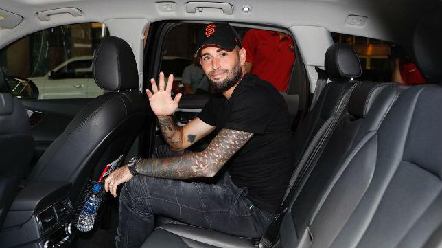 Aleix Vidal abandona la concentración del Barcelona (FCB)