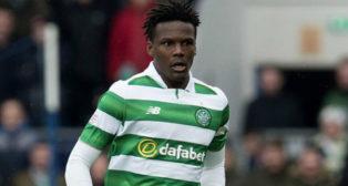 Dedryck Boyata, en un encuentro con el Celtic de Glasgow (SNS Group)