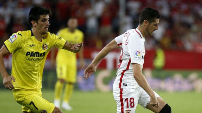 Sergio Escudero, durante el partido ante el Villarreal (Foto: LaLiga)