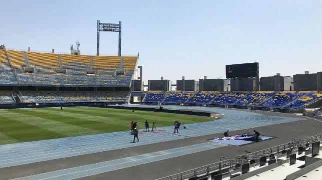 El Estadio de Tánger, sede de la final de la Supercopa de España