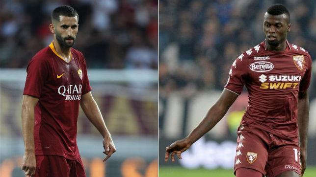 Maxime Gonalons (i) y Mbaye Niang (d), objetivos del Sevilla en este mercado de fichajes