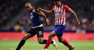 Joao Mario, esta pretemporada en el Atlético-Inter