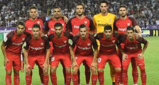 Once titular del Sevilla en el feudo del Ujpest (Foto: Sevilla FC)