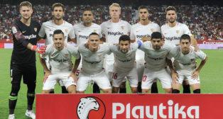El once del Sevilla FC ante el Villarreal (Foto: AFP).