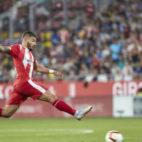 Portuen una acción ante el Real Madrid con el Girona. Foto: LaLiga