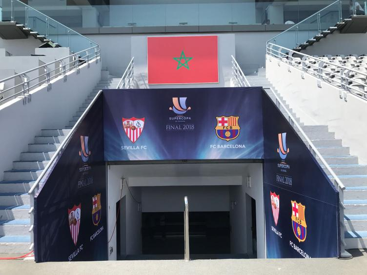 El Grand Stade de Tánger, listo para la Supercopa