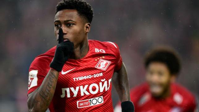 Quincy Promes ya ganó en el estadio del Krasnodar