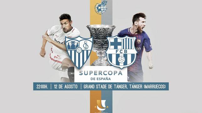 La RFEF ha confeccionado este atractivo reclamo para la final de la Supercopa de España (foto: RFEF)