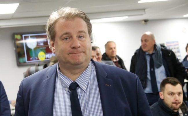 El director general del Genk, Erik Gerits, habló para ABC de Sevilla
