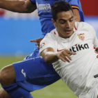 Ben Yedder, en un lance del Sevilla-Getafe