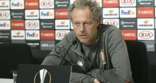 El entrenador del Standard de Lieja, Michel Preud'homme