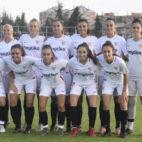 Jugadoras del Sevilla Femenino, en un amistoso de pretemporada (SFC)