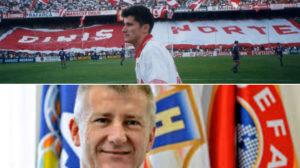 Davor Suker, ex del Sevilla y hoy presidente de la Federación Croata
