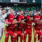 Once del Sevilla FC en el derbi ante el Betis. Foto: LaLiga