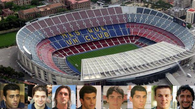 Hasta ocho jugadores que ganaron por última vez en el Camp Nou en LaLiga hablaron con ABC de Sevilla