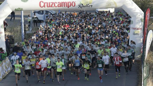 Imagen del año pasado en la Carrera de las Aficiones (Juan Flores)