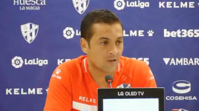 Francisco Rodríguez, entrenador del Huesca