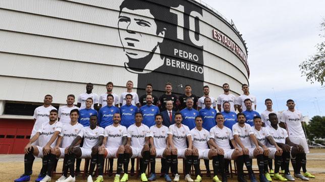 Foto oficial del Sevilla FC 2018-19 (SFC)