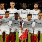 Once titular del Sevilla en su duelo contra el Krasnodar