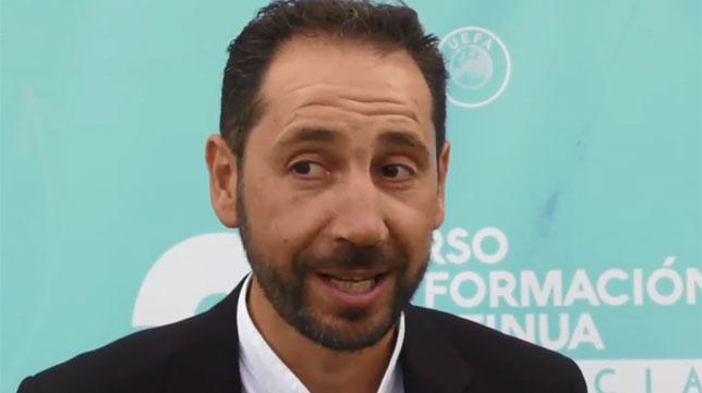 El técnico del Sevilla FC, Pablo Machín