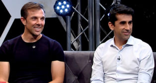 Carlos Marchena y Paco Gallardo