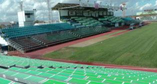 Vista del Municipal Romero Cuerda, estadio del Villanovense, rival del Sevilla FC