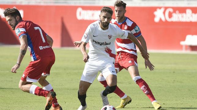 Sevilla Atlético y Recreativo Granada se repartieron los puntos (Foto: Sevilla FC)