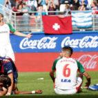 Los jugadores del Eibar celebran el segundo gol logrado ante el Alavés (Foto: EFE)