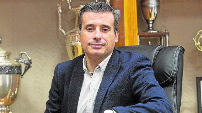 Miguel Ángel Gómez, director general deportivo del Real Valladolid (Foto: A. Mingueza)