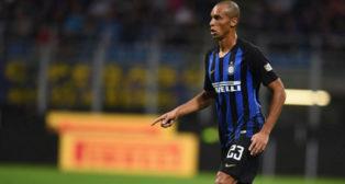 Miranda, en un partido del Inter de Milán (www.inter.it)