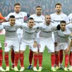 Once titular en el Standard-Sevilla FC