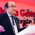 José Castro, en la junta de accionistas 2018 del Sevilla (EFE)