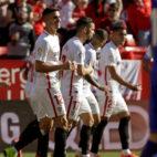 André Silva celebra su gol ante el Levante (EFE)