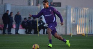 Muriel, en el partido amistoso de la Fiorentina en Malta (Foto: AC Fiorentina)