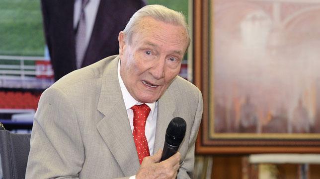 Roberto Alés, en su homenaje (J. Spínola)