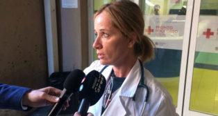 Mónica Carfora, vicedirectoria de Urgencias del hospital Santo Spirito (F. M.)