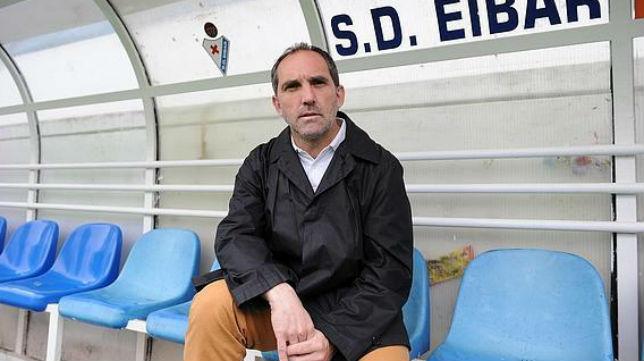Fran Garagarza es el director deportivo del Eibar