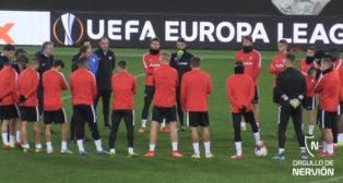 El Sevilla FC, en el Olímpico de Roma
