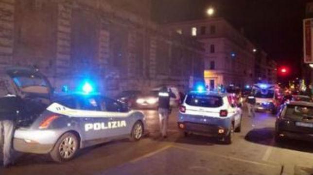 Imagen de la zona donde se produjeron los incidentes en Roma (Il Messaggero)