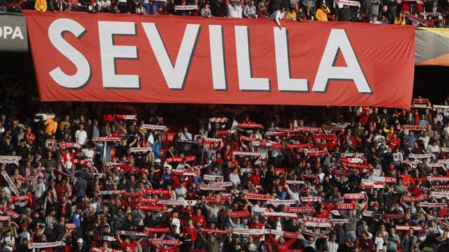 La afición del Sevilla (Manu Gómez)