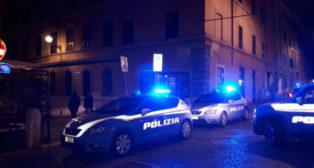 Imagen de la zona donde se produjeron los incidentes en Roma (EFE)