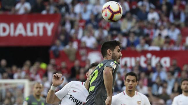 Munir y Ben Yedder, en el Sevilla-Real Sociedad (J. M. Serrano)