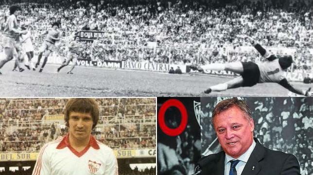 Bertoni le marcó dos goles a la Real Sociedad con los que el equipo vasco perdió la liga en el Sánchez-Pizjuán